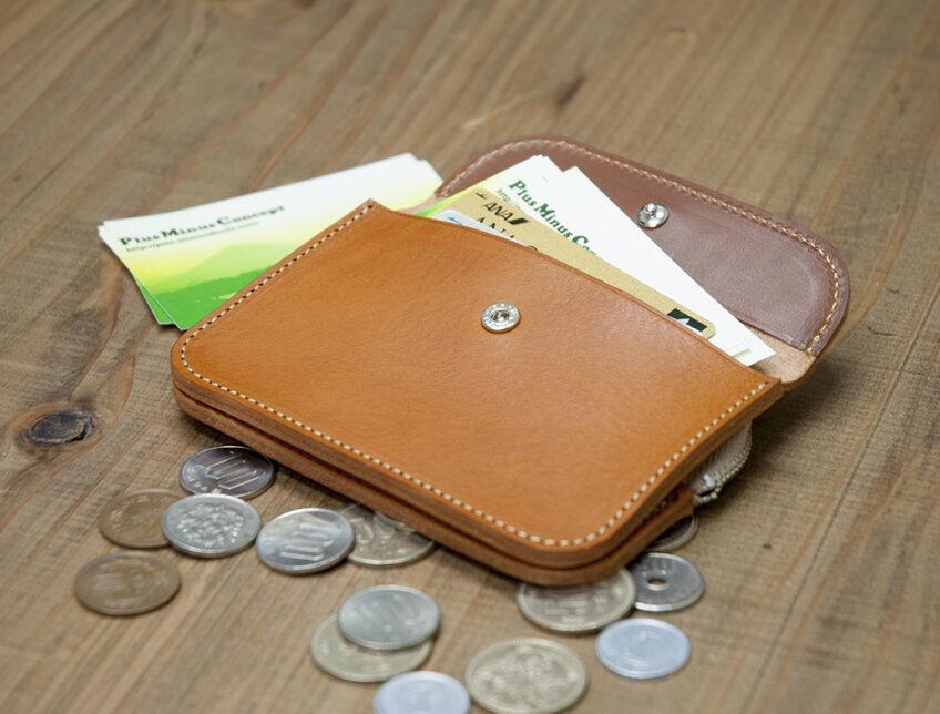 【homework japan Design】カラーリングオーダーSmallWalletコイン&カードケース
